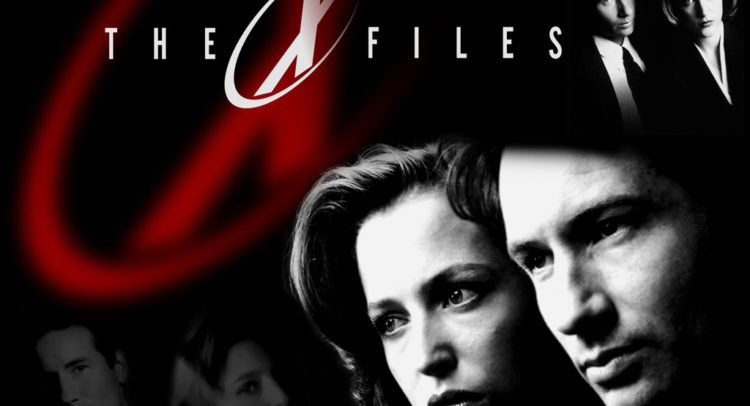 Mulder e Scully in un'immagine della serie tv X-Files