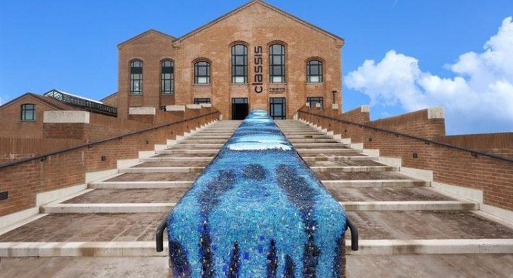 Ravenna, mosaico tessere di mare